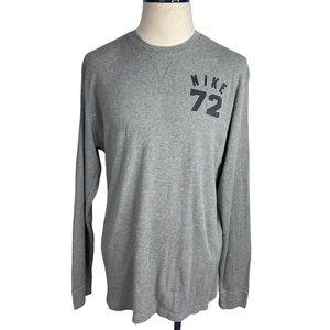 Men's Nike 72 men's Gray Crewneck XL Sweater
